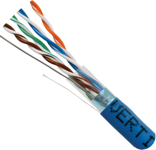 Cat5e Shielded PVC Blue 057-483 S ST BL cord