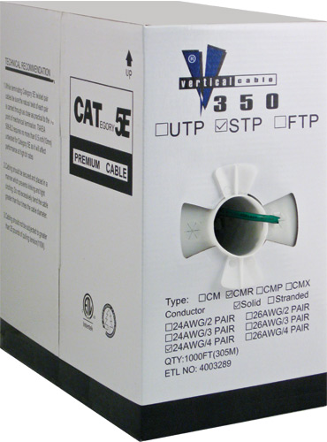 Cat5e Shielded PVC Green 057 470 S GR 02
