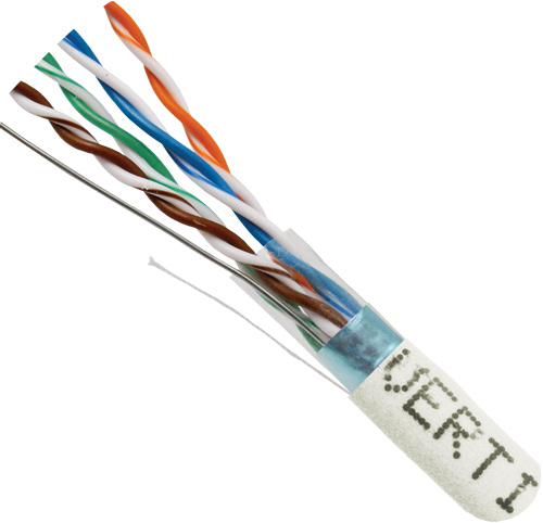 Cat5e Shielded PVC White 057-485 S ST WH cord